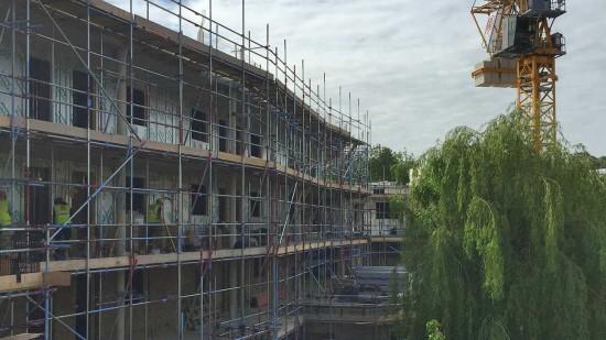 Cheviot Gardens progressing on site